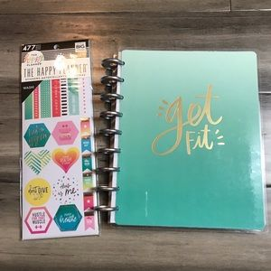 The Happy Planner Undated Classic Fitness Planner